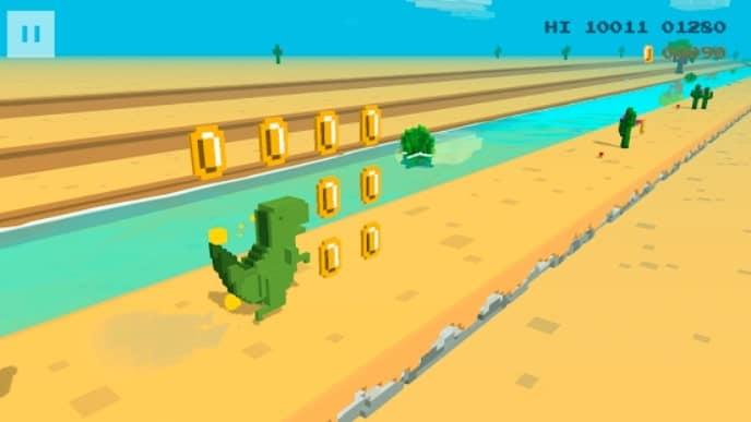 Dino 3D андроид