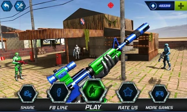 FPS Robot Shooter Strike андроид