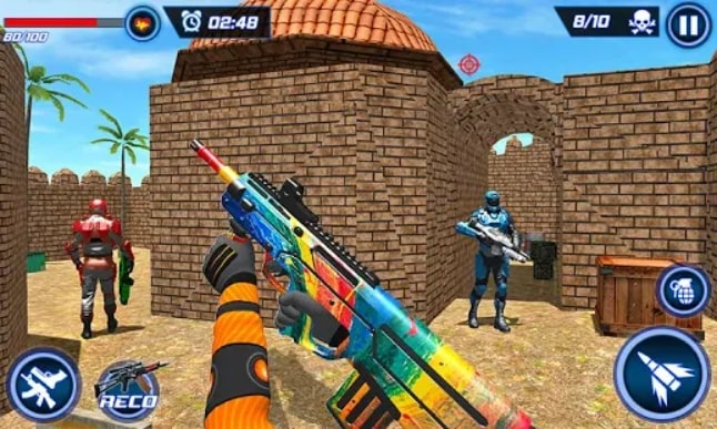 FPS Robot Shooter Strike мод