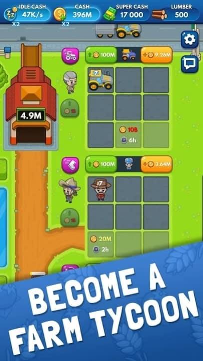Idle Farm Tycoon андроид