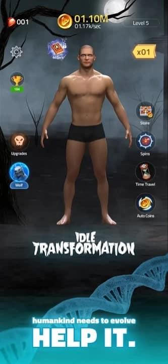 Idle Transformation андроид