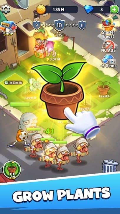 Merge Plants андроид