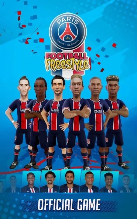 PSG Football Freestyle андроид