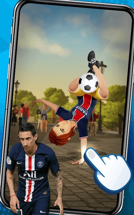PSG Football Freestyle мод