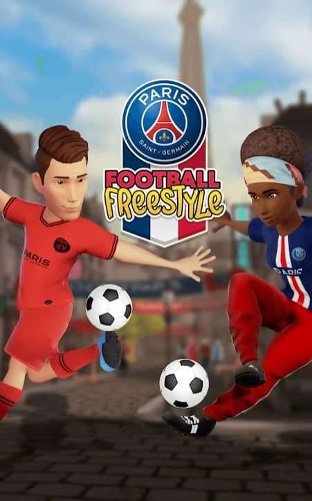 PSG Football Freestyle скачать