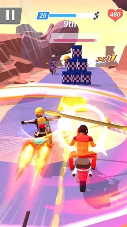 Racing Smash 3D читы
