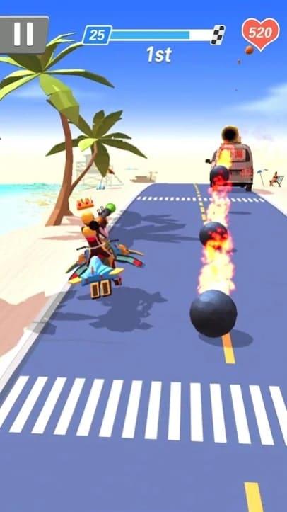 Racing Smash 3D мод