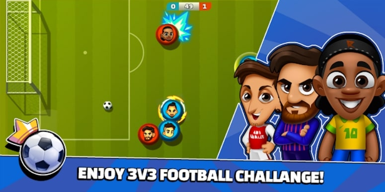 Super Soccer 3V3 андроид
