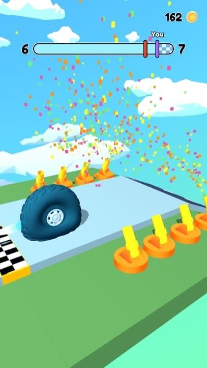 Wheel Race мод