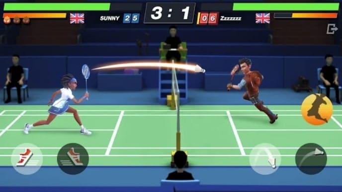 Badminton Blitz андроид