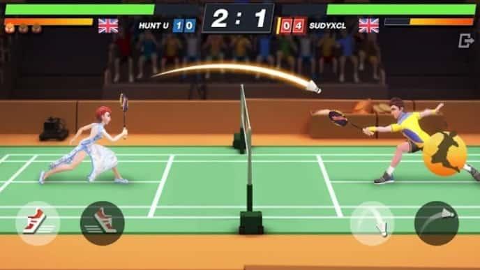 Badminton Blitz мод