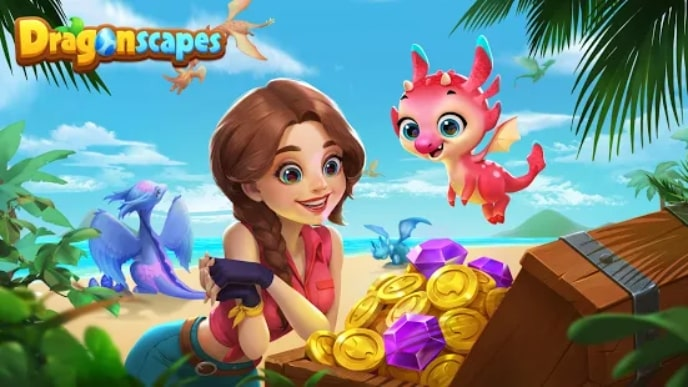 Dragonscapes Adventure андроид