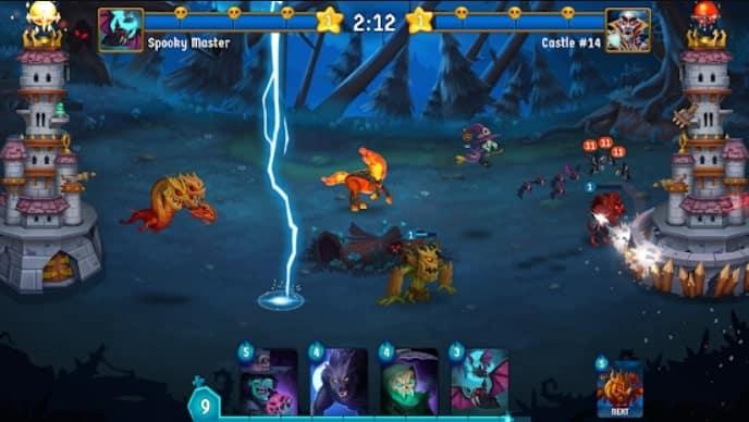 Spooky Wars андроид