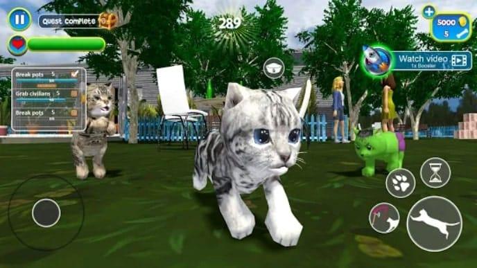 Virtual Cat Simulator мод
