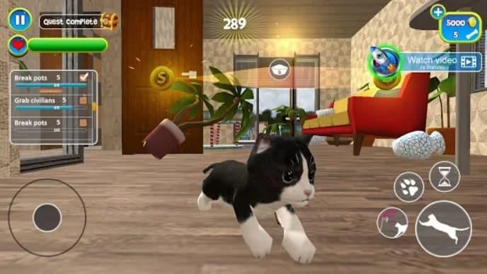Virtual Cat Simulator скачать