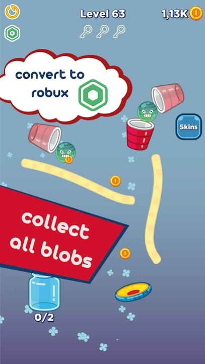 Bouncy Blobs мод