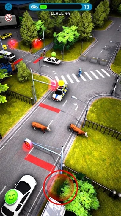 Crazy Traffic Control мод