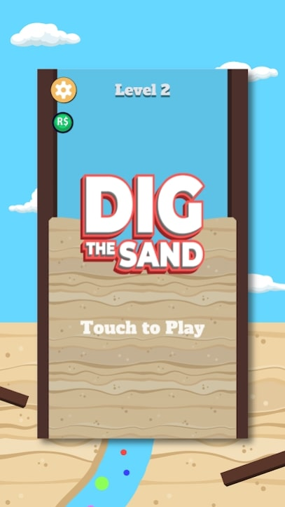 Dig the Sand мод