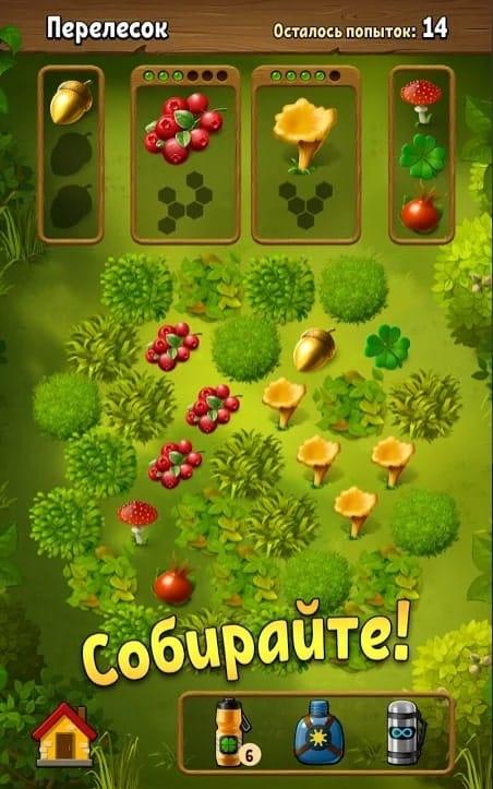 Грибники: дары леса андроид