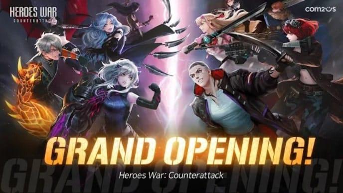 Heroes War: Counterattack андроид