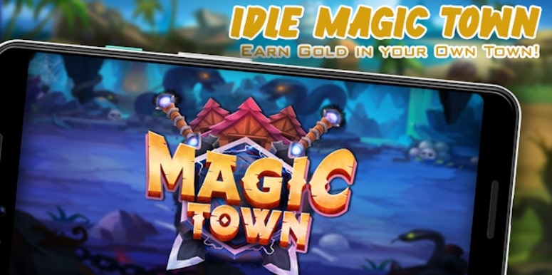 Idle Magic Town андроид