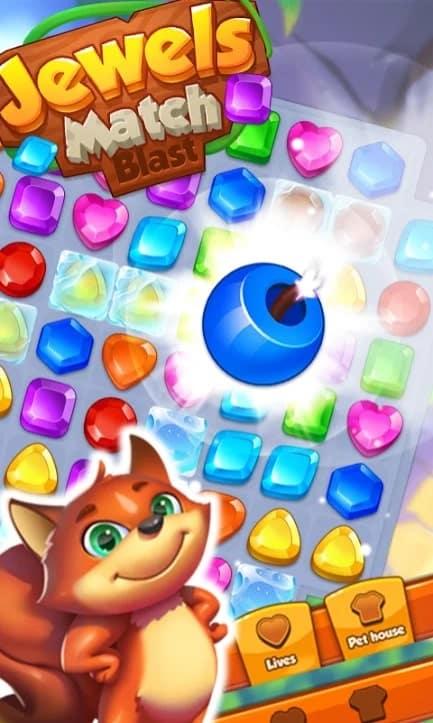 Jewels Match Blast андроид