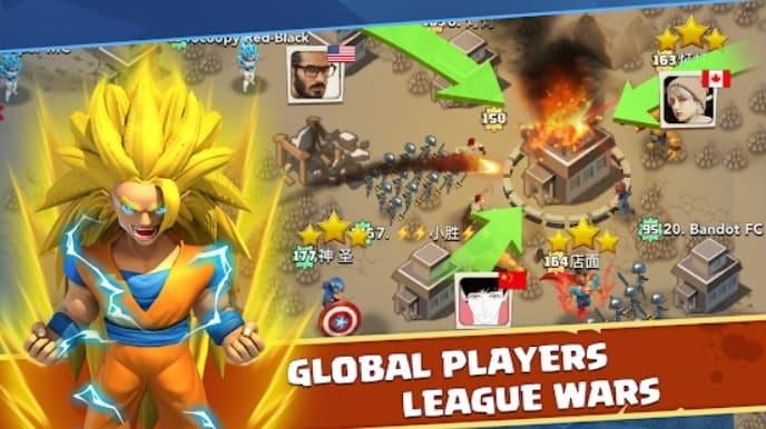 League Clash мод