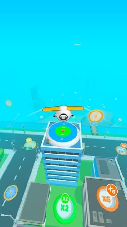 Sky Glider 3D мод