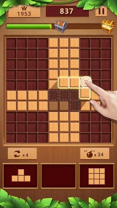 Wood Block андроид