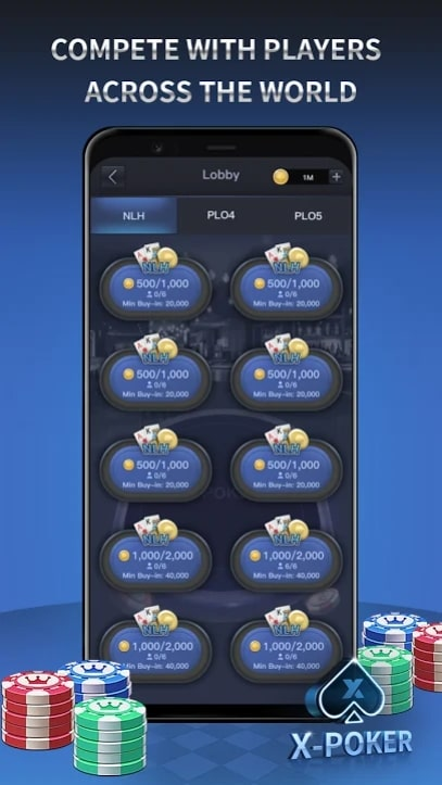 X-Poker мод