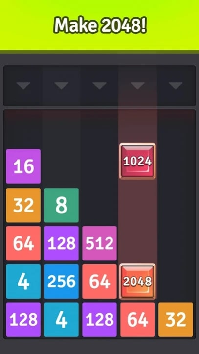 2048 Merge Number Games мод
