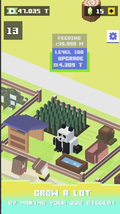 Blocky Zoo Tycoon андроид