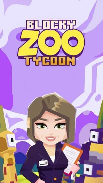Blocky Zoo Tycoon скачать