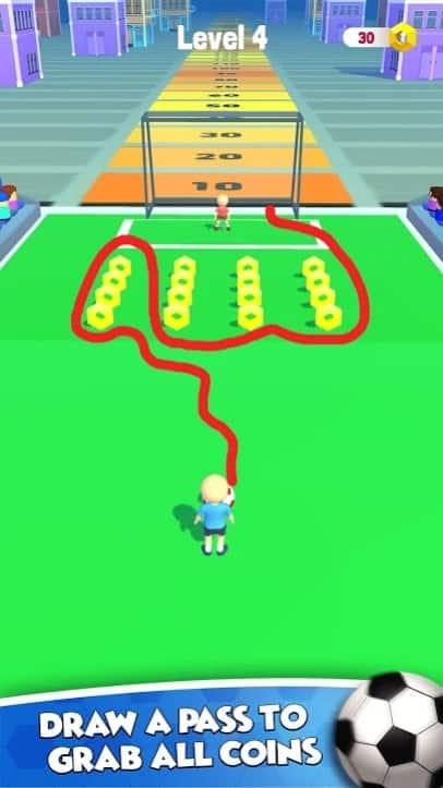 Draw Soccer мод