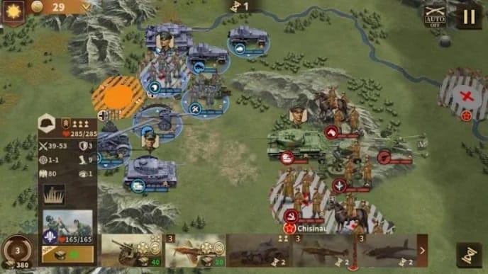 Glory of Generals 3 андроид
