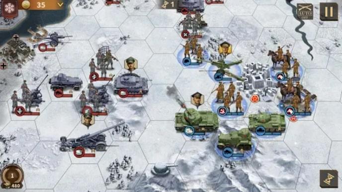 Glory of Generals 3 скачать