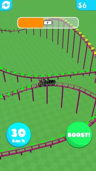 Hyper Roller Coaster мод