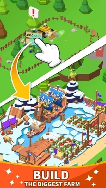 Idle Leisure Farm андроид