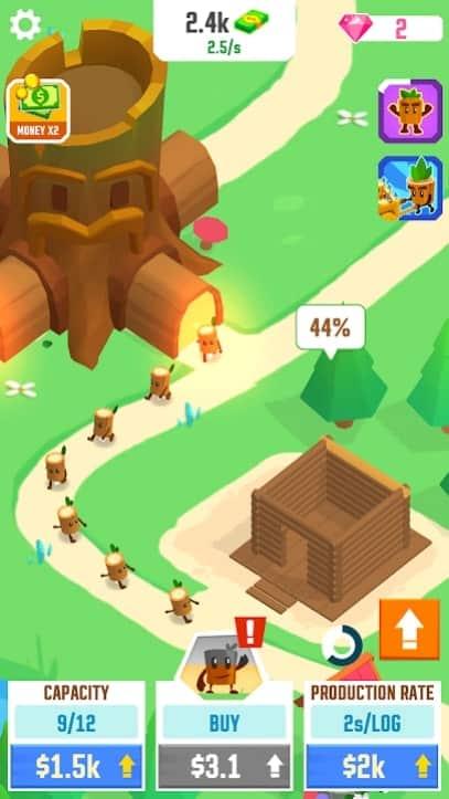 Idle Tree City андроид