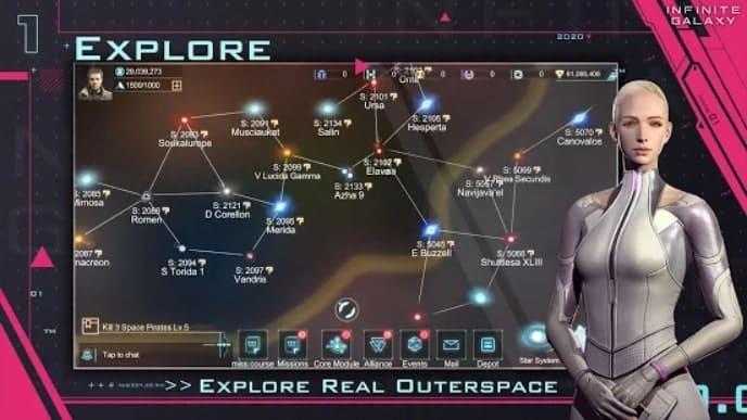 Infinite Galaxy андроид