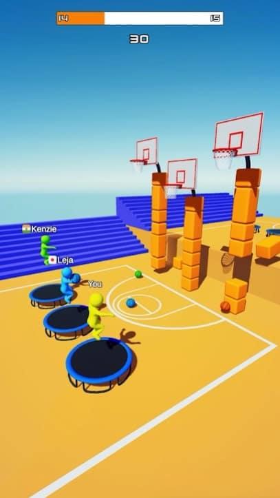 Jump Dunk 3D читы