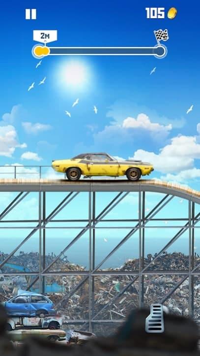 Jump The Car андроид