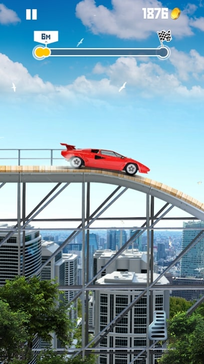 Jump The Car мод