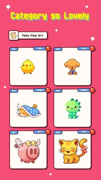 Petly Pixel Artist андроид