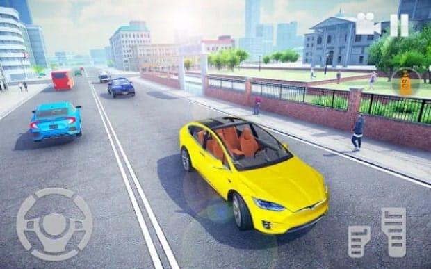 Симулятор электромобиля 2021 мод