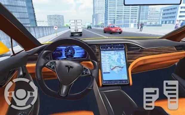 Симулятор электромобиля 2021 скачать