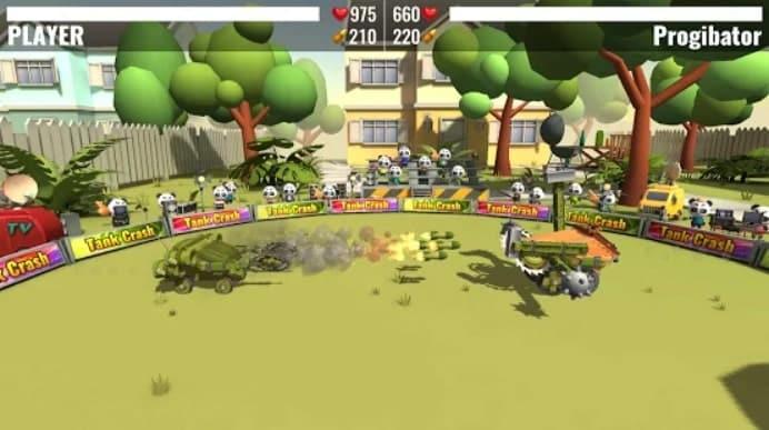 Tank Crash андроид