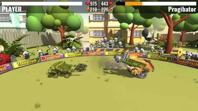 Tank Crash мод