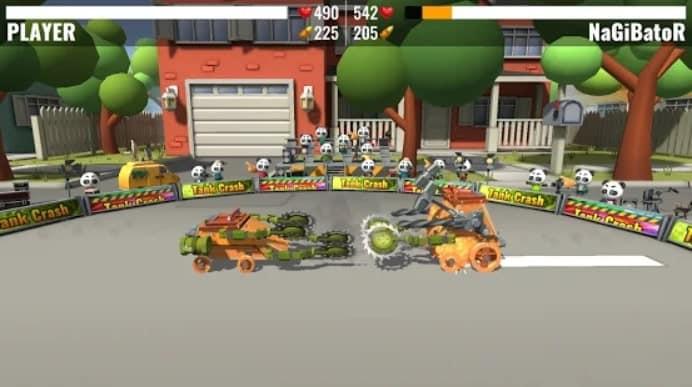Tank Crash скачать