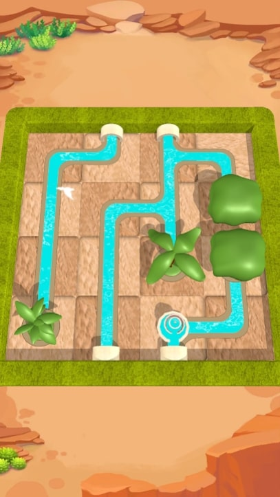 Water Connect Puzzle мод